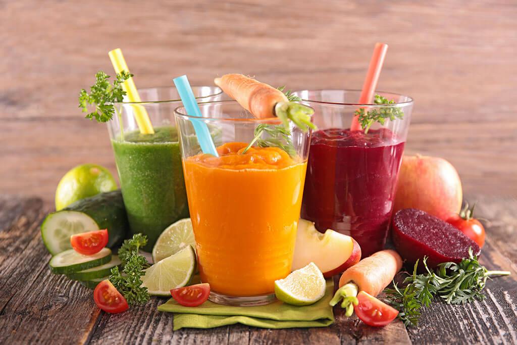 Fastenhaus Dunst - Besser essen, gesunde Säfte - viel Gemüse und Obst