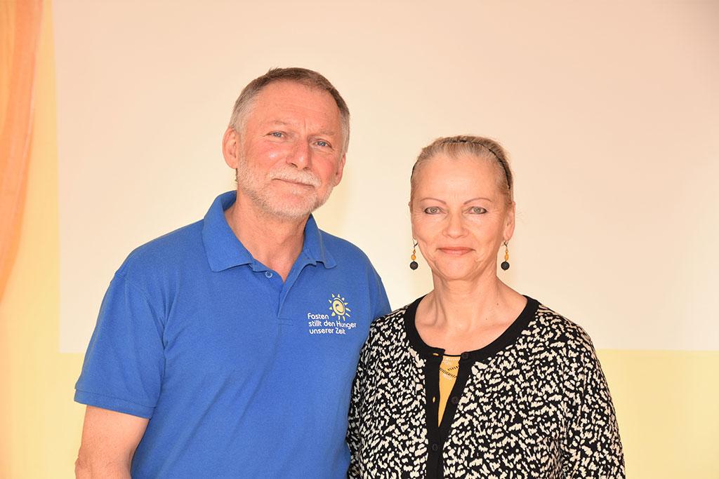 Gastgeber Fastenhaus Dunst: Robert und Roswitha Dunst